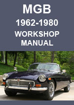 MGB Workshop Repair Manual