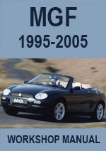 MGF 1995-2005 Workshop Repair Manual